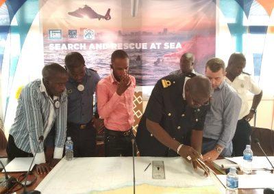 séminaire recherche et sauvetage en mer  du 17 au 21 juin 2019