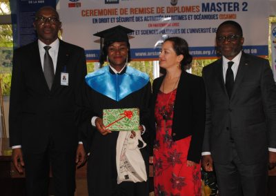 Graduation ceremony Master of laws DSAMO - 22 November 2019