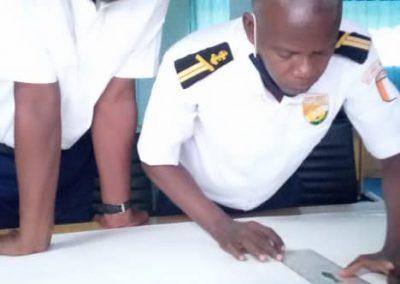 Stage d'entraînement à la recherche et au sauvetage en mer du 05 au 07 octobre 2020