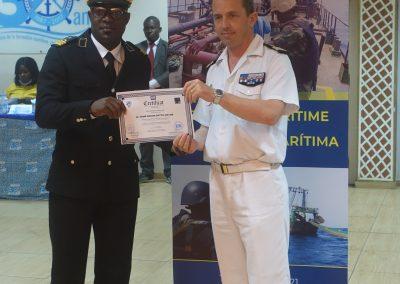 Stage Sécurité maritime du 18 au 21 mai 2021